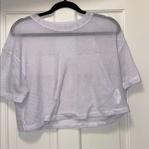 MESH TOP FOR working out or fun party